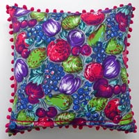 purple abstract vintage cushion 608
