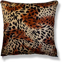 red animal vintage cushion 807 Back