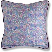 purple animal vintage cushion