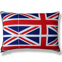 flag vintage cushion 656