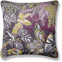 yellow floral vintage cushion 954