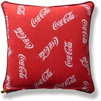 red graphic vintage cushion 727