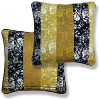 yellow retro vintage cushion 878