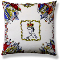 green royal vintage cushion 518 Back