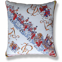 blue royal vintage cushion 658 Back