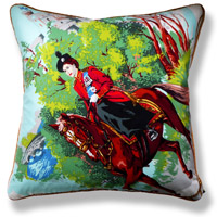 green royal vintage cushion 711 Front