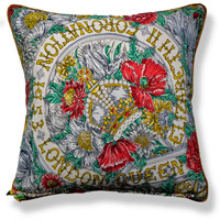 green royal vintage cushion 711 Back