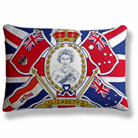 blue royal vintage cushion 768 Front