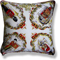 royal vintage cushion 826 Back